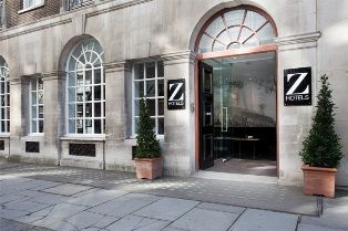 Fleet Street entrance to Z City Hotel