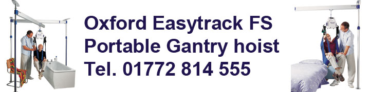 Oxford Easytrack FS Free Standing portable gantry hoist