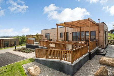 Gwel an Moor M3 Assisted Living Holiday Lodge Redruth in Cornwall