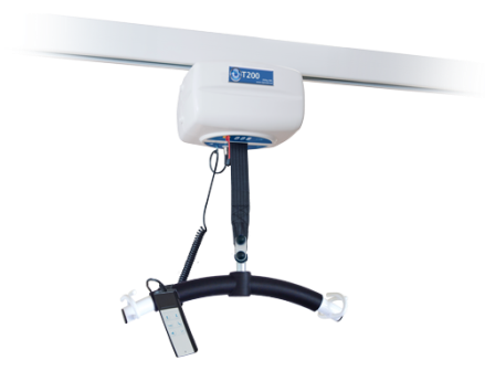 OpeMed OT200 ceiling track hoist with new Spreader Bar